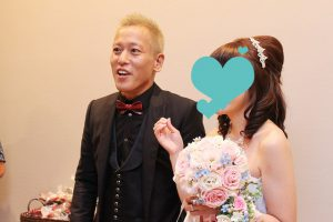 じゅんいち 結婚式 本田圭佑